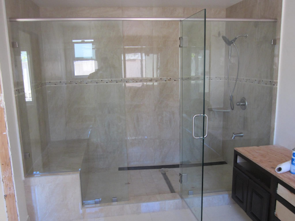 Superb Large Shower Enclosure   Patriot Glass And Mirror | San Diego CA